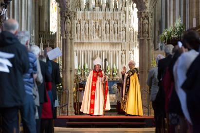 bishop viv enthronement