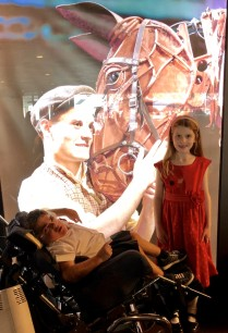 Susannah and me at War Horse